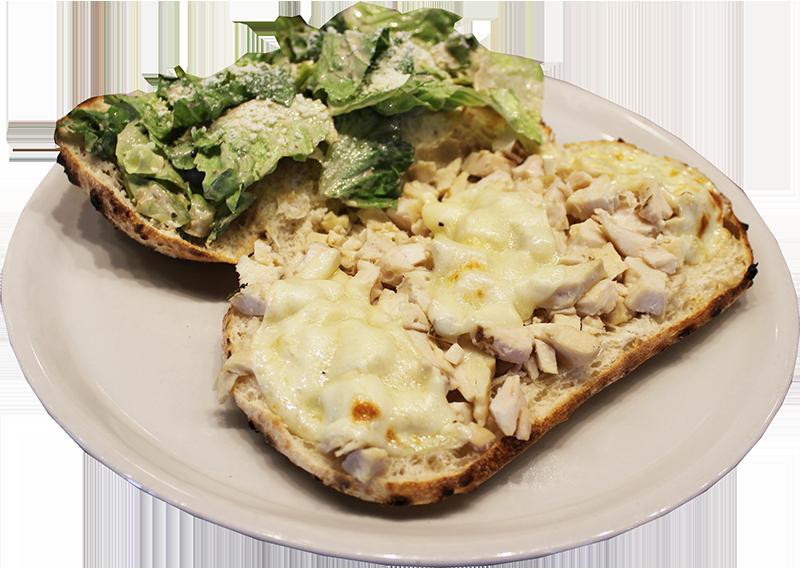 Duca's Chicken Caesar Piadine Flatbread Sandwich
