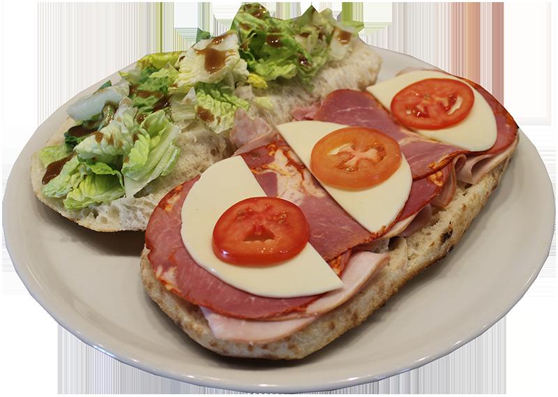 Duca's Pizza Copocollo Piadine Sandwich