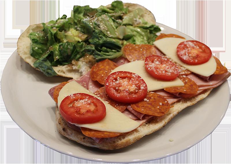 Duca's Megalena Piadine Sandwich