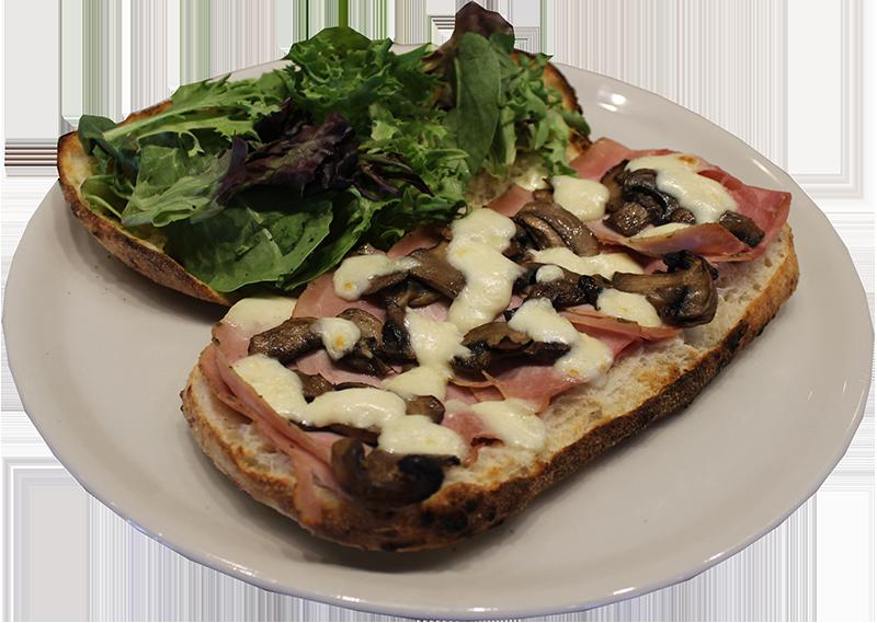 Duca's Rosemary Ham Piadine Sandwich