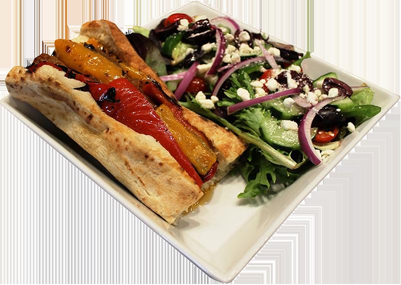 Duca's Meatball Piadine Flatbread Sandwich
