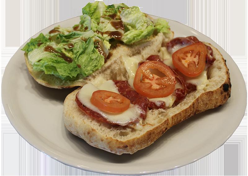 Duca's Soppressata Piadine Flatbread Sandwich